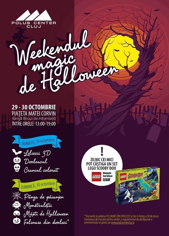 Weekendul magic de Halloween la Polus!